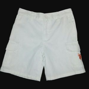 Polo by Ralph Lauren Bottoms - RALPH LAUREN POLO White Cargo Shorts Size 3T
